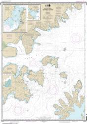 Buy map Shumagin Islands-Nagai I. to Unga I.; Delarof Harbor; Popof Strait, northern part Nautical Chart (16553) by NOAA from Alaska Maps Store