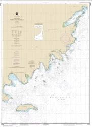 Buy map Wide Bay to Cape Kumlik, Alaska Pen. Nautical Chart (16568) by NOAA from Alaska Maps Store