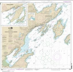Buy map Kodiak and St. Paul harbors; Kodiak Harbor Nautical Chart (16595) by NOAA from Alaska Maps Store