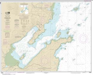 Buy map Womens Bay Nautical Chart (16596) by NOAA from Alaska Maps Store