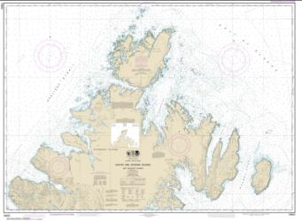 Buy map Shuyak and Afagnak Islands and adjacent waters Nautical Chart (16604) by NOAA from Alaska Maps Store