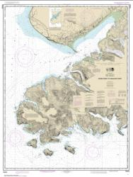 Buy map Gore Point to Anchor Point Nautical Chart (16645) by NOAA from Alaska Maps Store