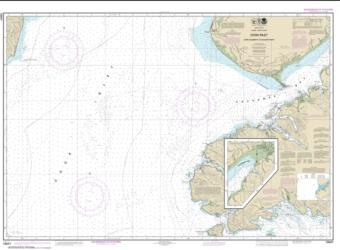 Buy map Cook Inlet-Cape Elizabeth to Anchor Point Nautical Chart (16647) by NOAA from Alaska Maps Store