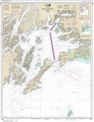 Buy map Prince William Sound Nautical Chart (16700) by NOAA from Alaska Maps Store