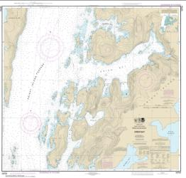 Buy map Drier Bay, Prince William Sound Nautical Chart (16704) by NOAA from Alaska Maps Store