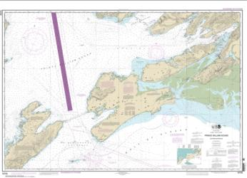 Buy map Prince William Sound-eastern entrance Nautical Chart (16709) by NOAA from Alaska Maps Store