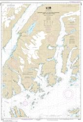 Buy map Unakwik Inlet to Esther Passage and College Fiord Nautical Chart (16712) by NOAA from Alaska Maps Store