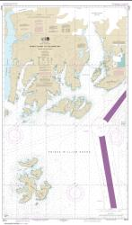 Buy map Naked Island to Columbia Bay Nautical Chart (16713) by NOAA from Alaska Maps Store