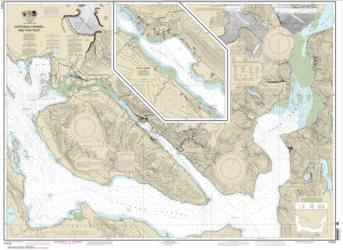 Buy map Gastineau Channel and Taku Inlet; Juneau Harbor Nautical Chart (17315) by NOAA from Alaska Maps Store
