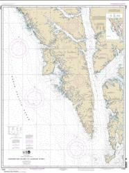 Buy map Coronation Island to Lisianski Strait Nautical Chart (17320) by NOAA from Alaska Maps Store