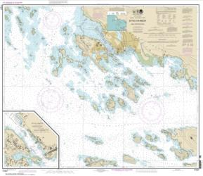Buy map Sitka Harbor and approaches; Sitka Harbor Nautical Chart (17327) by NOAA from Alaska Maps Store