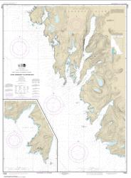 Buy map West Coast of Baranof Island Cape Ommaney to Byron Bay Nautical Chart (17330) by NOAA from Alaska Maps Store