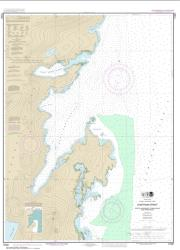 Buy map Chatham Strait Ports Alexander, Conclusion, and Armstrong Nautical Chart (17331) by NOAA from Alaska Maps Store