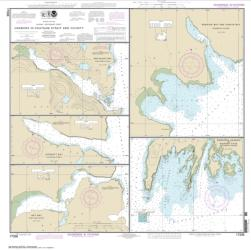 Buy map Harbors in Chatham Strait and vicinity Gut Bay, Chatham Strait; Hoggatt Bay, Chatham Strait; Red Bluff Bay, Chatham Strait; Herring Bay and Chapin Bay, Frederick Sound;Surprise Hbr, and Murder Cove, Frederick Sound Nautical Chart (17336) by NOAA from Alaska Maps Store