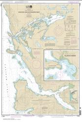 Buy map Hood Bay and Kootznahoo Inlet Nautical Chart (17339) by NOAA from Alaska Maps Store