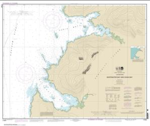 Buy map Whitewater Bay and Chaik Bay, Chatham Strait Nautical Chart (17341) by NOAA from Alaska Maps Store