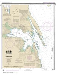 Buy map Gambier Bay, Stephens Passage Nautical Chart (17362) by NOAA from Alaska Maps Store