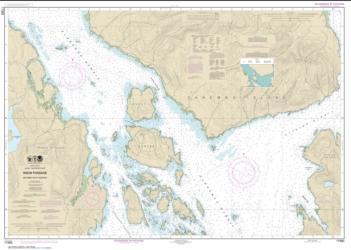 Buy map Snow Passage, Alaska Nautical Chart (17383) by NOAA from Alaska Maps Store