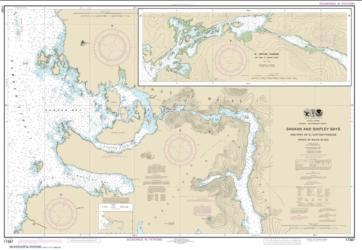 Buy map Shakan and Shipley Bays and Part of El Capitan Passage; El Capitan Pasage, Dry Pass to Shakan Strait Nautical Chart (17387) by NOAA from Alaska Maps Store