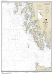 Buy map Dixon Entrance to Chatham Strait Nautical Chart (17400) by NOAA from Alaska Maps Store