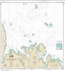 Buy map Lake Bay and approaches, Clarence Str. Nautical Chart (17401) by NOAA from Alaska Maps Store