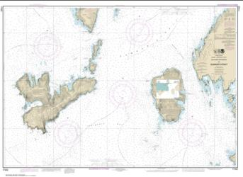 Buy map Southern Entrances to Sumner Strait Nautical Chart (17402) by NOAA from Alaska Maps Store