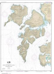Buy map Baker, Noyes, and Lulu Islands and adjacent waters Nautical Chart (17406) by NOAA from British Columbia Maps Store