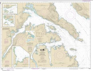 Buy map Kasaan Bay, Clarence Strait; Hollis Anchorage, eastern part; Lyman Anchorage Nautical Chart (17426) by NOAA from British Columbia Maps Store