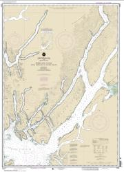 Buy map Portland Canal - Dixon Entrance to Hattie I. Nautical Chart (17427) by NOAA from British Columbia Maps Store