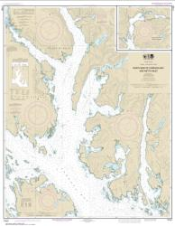 Buy map N. end of Cordova Bay and Hetta Inlet Nautical Chart (17431) by NOAA from Alaska Maps Store