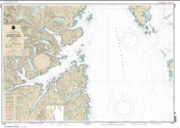 Buy map Clarence Strait and Moira Sound Nautical Chart (17432) by NOAA from Alaska Maps Store