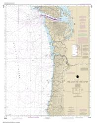 Buy map Cape Blanco to Cape Flattery Nautical Chart (18003) by NOAA from Washington Maps Store