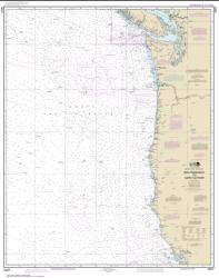 Buy map San Francisco to Cape Flattery Nautical Chart (18007) by NOAA from United States Maps Store