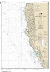 Buy map Monterey Bay to Coos Bay Nautical Chart (18010) by NOAA from United States Maps Store