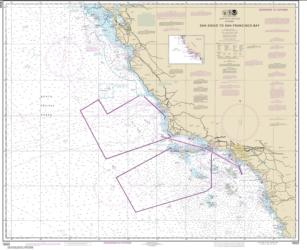 Buy map San Diego to San Francisco Bay Nautical Chart (18022) by NOAA from United States Maps Store