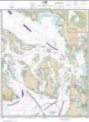 Buy map Strait of Juan de Fuca to Strait of Georgia; Drayton Harbor Nautical Chart (18421) by NOAA from Washington Maps Store