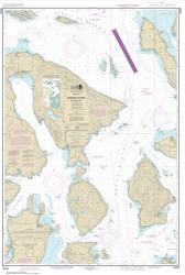 Buy map Rosario Strait-northern part Nautical Chart (18430) by NOAA from Washington Maps Store