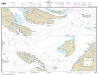 Buy map Boundary Pass Nautical Chart (18432) by NOAA from Washington Maps Store