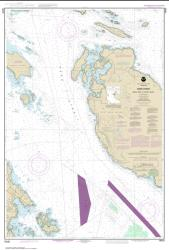 Buy map Haro-Strait-Middle Bank to Stuart Island Nautical Chart (18433) by NOAA from Washington Maps Store