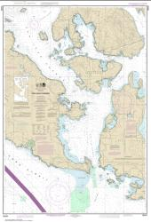 Buy map San Juan Channel Nautical Chart (18434) by NOAA from Washington Maps Store