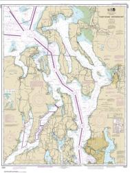 Buy map Puget Sound-northern part Nautical Chart (18441) by NOAA from Washington Maps Store