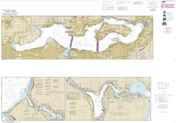 Buy map Lake Washington Ship Canal and Lake Washington Nautical Chart (18447) by NOAA from Washington Maps Store