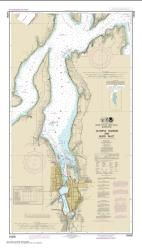 Buy map Olympia Harbor and Budd Inlet Nautical Chart (18456) by NOAA from Washington Maps Store