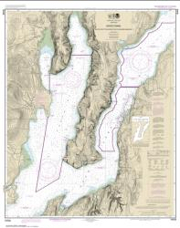 Buy map Hood Canal-South Point to Quatsap Point including Dabob Bay Nautical Chart (18458) by NOAA from Washington Maps Store