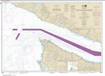 Buy map Stait of Juan de Fuca Entrance Nautical Chart (18460) by NOAA from Washington Maps Store