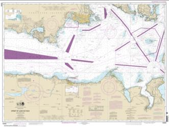 Buy map Strait of Juan de Fuca-eastern part Nautical Chart (18465) by NOAA from Washington Maps Store