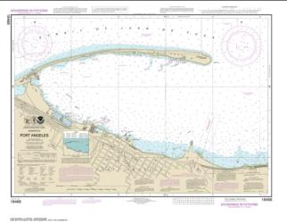 Buy map Port Angeles Nautical Chart (18468) by NOAA from Washington Maps Store