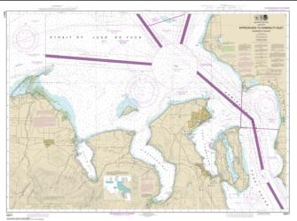 Buy map Approaches to Admiralty Inlet Dungeness to Oak Bay Nautical Chart (18471) by NOAA from Washington Maps Store