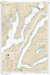 Buy map Puget Sound-Hood Canal and Dabob Bay Nautical Chart (18476) by NOAA from Washington Maps Store