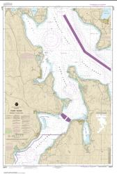 Buy map Puget Sound-Entrance to Hood Canal Nautical Chart (18477) by NOAA from Washington Maps Store
